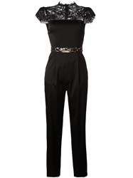 Alice Olivia Rosalia Jumpsuit Black