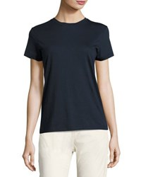 Vince Boy Pima Cotton Tee Storm Blue