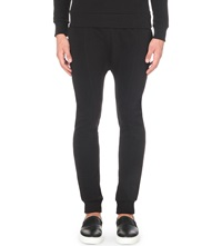 Blood Brother Dropped Crotch Jogging Bottoms Black
