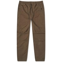 Mhi Maharishi Life Death Embroidered Track Pant Brown