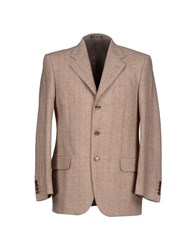 Sidi Suits And Jackets Blazers Men Sand