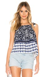 Bb Dakota Pto Request Tank Top In Blue. Navy