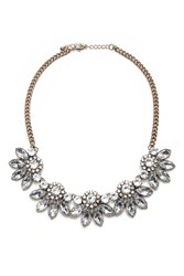 Forever 21 Rhinestone Statement Necklace