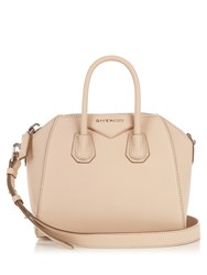 Givenchy Antigona Mini Leather Cross Body Bag Light Pink