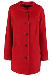 Taifun Classic Coat Purpur Red