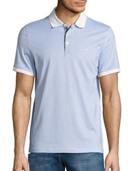Michael Kors Patterned Polo Shirt Ice Cream