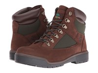 Timberland Field Boot 6 F L Waterproof Chocolate Old River Nubuck Men's Lace Up Boots Brown
