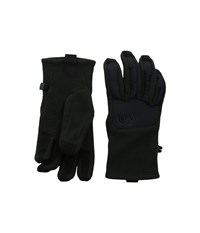 The North Face Denali Etip Glove Tnf Black Garnet Purple Galactic Print Extreme Cold Weather Gloves