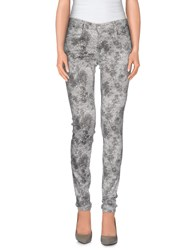 Gas Jeans Gas Trousers Casual Trousers Women Grey