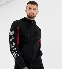 Nicce London Hoodie In Black With Arm Logo Exclusive To Asos
