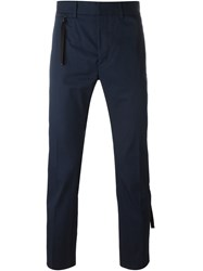 Diesel Black Gold Zip Pocket Trousers Blue