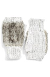 Women's Collection Xiix Faux Fur Fingerless Gloves