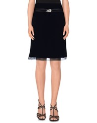 Elisabetta Franchi Skirts Knee Length Skirts Women Dark Blue