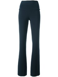 Norma Kamali Relaxed Trousers Grey
