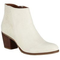 Alice By Temperley Somerset By Alice Temperley Oare Block Heeled Ankle Boots Cream