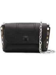 Zadig And Voltaire Nano Clutch Black