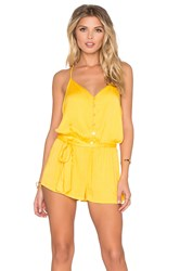 Young Fabulous And Broke Jay Romper Yellow