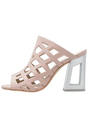 Bronx Sandals Powder Nude