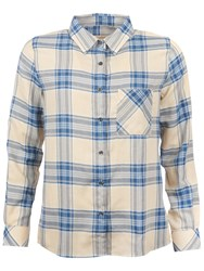 Barbour Brae Check Shirt Blue Check
