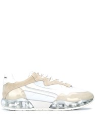 Alexander Wang Marbled Effect Sneakers White