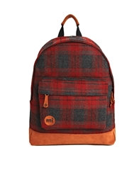 Mi Pac Backpack In Red Plaid