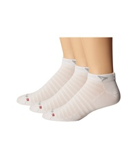 Drymax Sport Hyper Thin Running V4 Mini Crew 3 Pair Pack White Low Cut Socks Shoes