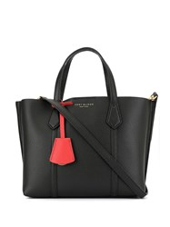 Tory Burch Perry Small Tote Bag Black