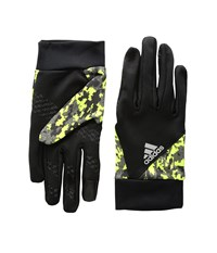 Adidas Shelter Black Neon Yellow Liner Gloves