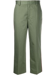 Marc Jacobs Contrast Piping Cropped Trousers 60