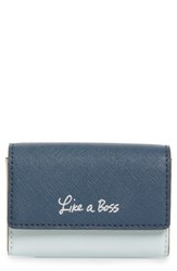 Rebecca Minkoff Like A Boss Leather Card Holder