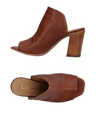 Lemare Sandals Brown