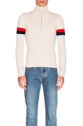 J.W.Anderson J.W. Anderson High Neck Sweater In Neutrals