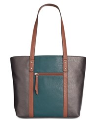 Styleandco. Style Co. Perrie Tote Only At Macy's Pewter Storm