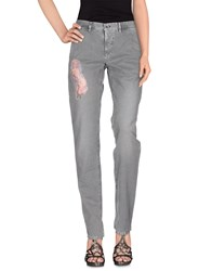 Incotex Red Denim Denim Trousers Women Grey