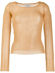 Forte Forte Fine Knit Jumper Yellow