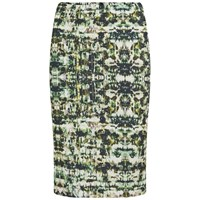 Great Plains Women's Emerald City Pencil Skirt Rebel Green Multi