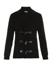 Bottega Veneta Cotton Blend Toggle Cardigan