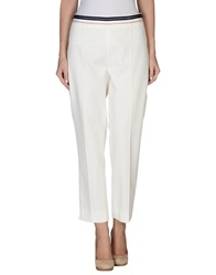 Clips More Casual Pants Ivory
