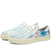 Amiri Tie Dye Skel Toe Slip On Multi