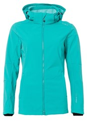 Cmp Soft Shell Jacket Tropical Turquoise