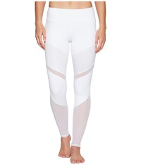 Alo Yoga Sheila Leggings White White Glossy Women's Workout