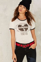 Wu Tang Forever Crop Top White