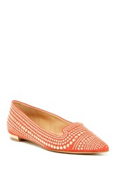 Enzo Angiolini Ayaki Smoking Slipper Red