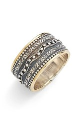 Women's Konstantino 'Hebe' Etched Band Ring