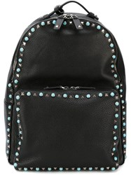 Valentino Garavani 'All Around Studs' Backpack Black