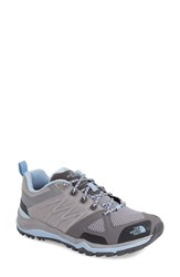 The North Face Women's 'Ultra Fastpack Ii' Hiking Shoe Foil Grey Powder Blue