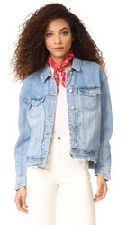 Won Hundred Jackie Denim Jacket Light Blue