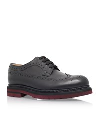 Valentino Espadrille Derby Shoe Male Black