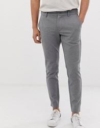 Only And Sons Slim Fit Smart Trouser Grey