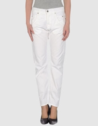 Sexy Woman Casual Pants White